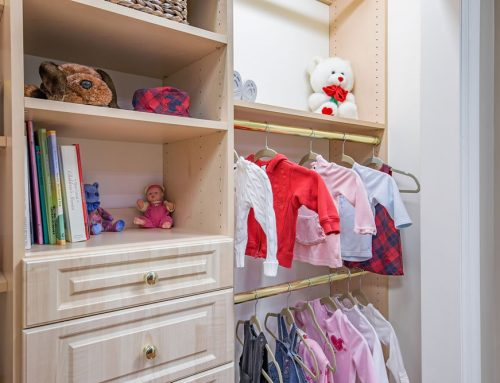 Bedroom Closet Organization for Your Child
