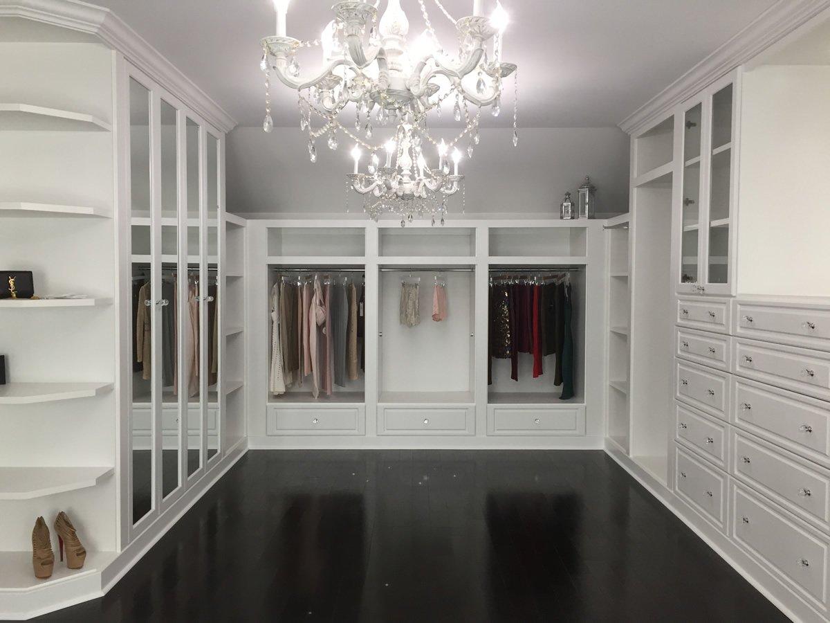 Custom Walk In Closet Systems Walk In Closet Design Closettec