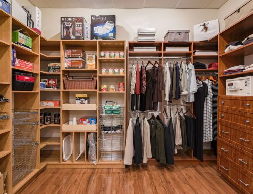 How To Organize A Deep Closet With Lots Of Space