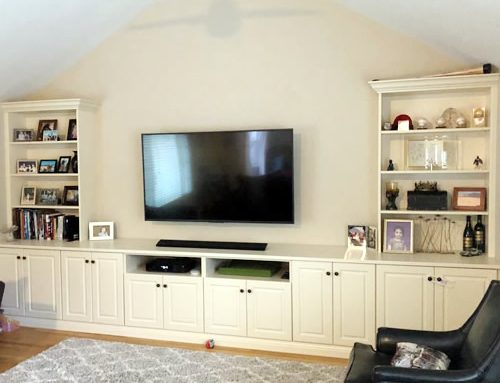 Custom Wall Cabinets to Match Your Interiors and Room Space