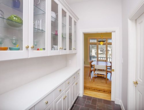 What Is A Butler's Pantry And The Best Way To Organize One?
