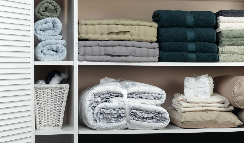 Linen Cabinets Hall Closet Shelving Organization Systems