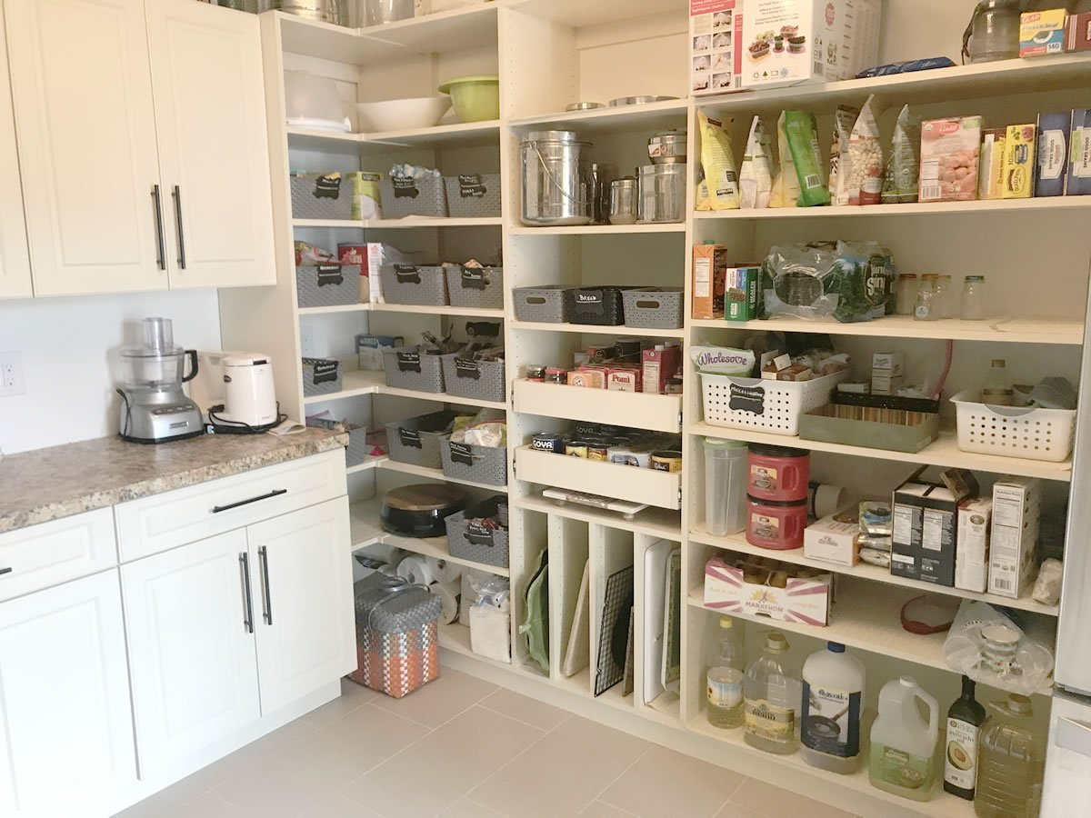 12 Ideas For A Small Kitchen Or Pantry Closettec
