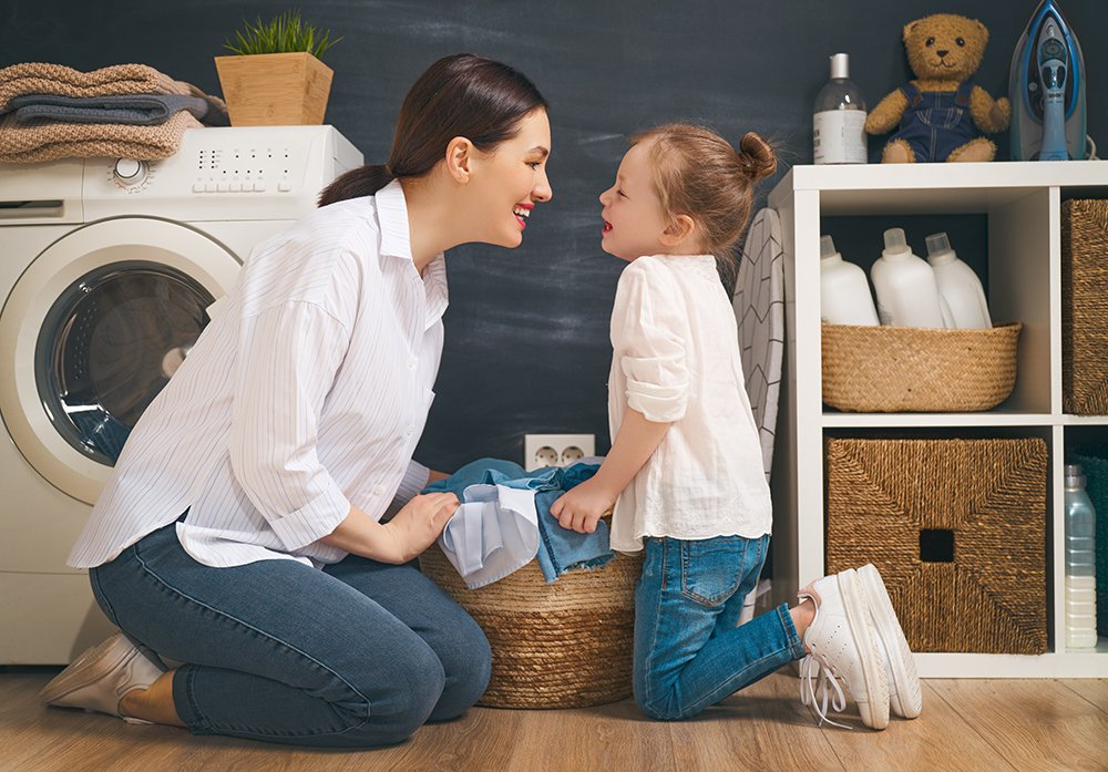 Laundry Room Storage Ideas For Small Or Large Rooms Closettec