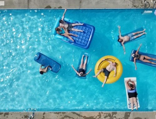 Easy Pool Storage Ideas For Equipment & Toys